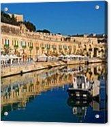 Reflect In Valletta Malta Acrylic Print