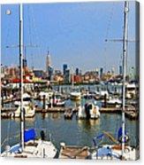 Waterfront View Hoboken Acrylic Print