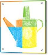 Watering Can Pop Art Acrylic Print