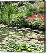 Waterlily Pond Giverney Acrylic Print