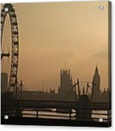 Waterloo Bridge View Acrylic Print