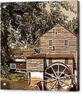 Watermill Two Acrylic Print