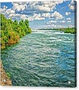 Waters Feeding Niagara Falls Acrylic Print