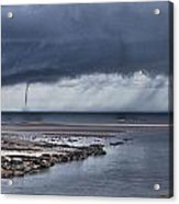 Waterspout Over The Ocean Acrylic Print