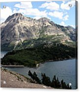 Waterton Lake Acrylic Print by Carolyn Ardolino