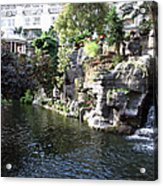 Waterway View Inside The Opryland Hotel In Nashville Tennessee In 2009 Acrylic Print