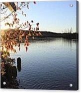 Waterways River View Acrylic Print