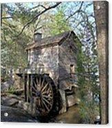 Waterwheel At Stone Mountain Acrylic Print