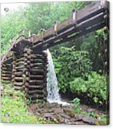 Waterwork Acrylic Print