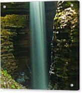 Watkins Glen Bridal Veil Acrylic Print