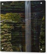Watkins Glen Central Cascade Acrylic Print