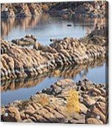 Watson Lake Acrylic Print by Ray Short