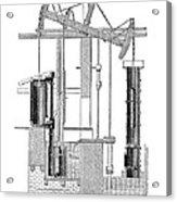 Watts Steam Engine, 1769 Acrylic Print