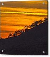 Watts Valley Sunset Acrylic Print