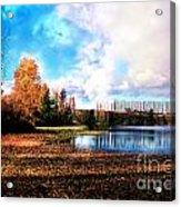 Waughop Lake Acrylic Print