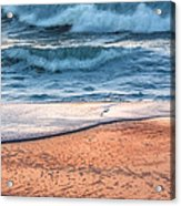Wave After Wave Acrylic Print