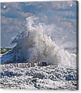 Wave Blow Acrylic Print