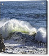 Wave Color Acrylic Print