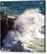 Wave Power Acrylic Print