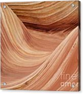 Wave Rock 3 At Coyote Buttes Acrylic Print