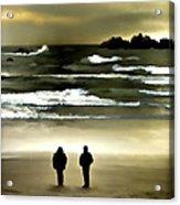 Wave Watchers Acrylic Print
