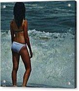 Wave Watching 8/5 Acrylic Print