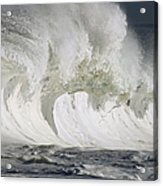 Wave Whitewash Acrylic Print