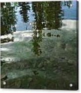 Wavering Reflections Acrylic Print