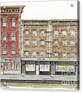 Waverly Diner In Greenwich Village Acrylic Print