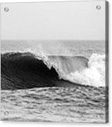 Waves Along The Shore Acrylic Print