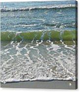 Waves At 7 Am Acrylic Print