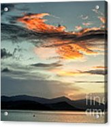 Waves In The Clouds Acrylic Print