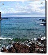 Waves Of Hawaii Acrylic Print
