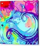 Waves Of His Love Acrylic Print