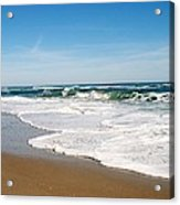 Waves On The Beach Acrylic Print