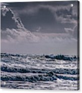 Waves, Reynisfjara, South Coast, Iceland Acrylic Print