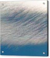 Wavy Iridescent Clouds Acrylic Print