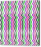 Wavy Stripe Acrylic Print
