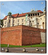 Wawel Royal Castle In Krakow Acrylic Print