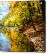 Waxen Autumn 3  Acrylic Print