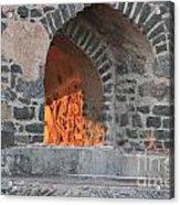 Way To The Fireplace Acrylic Print