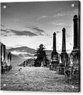 Waynesville Green Hill Cemetery Acrylic Print