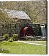 Wayside Grist Mill 6 Acrylic Print by Dennis Coates