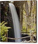 Wayside Grist Mill 7 Acrylic Print by Dennis Coates