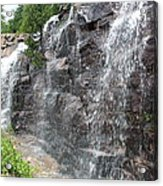 Wayside Waterfall - Acadia Np Acrylic Print
