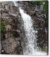 Wayside Waterfall I - Acadia Np Acrylic Print