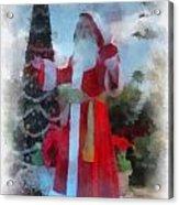Wdw Santa Photo Art Acrylic Print