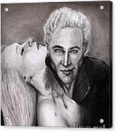 James Acrylic Print by Rosalinda Markle