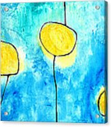 We Make A Family - Abstract Art By Sharon Cummings Acrylic Print