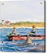We Need A Biggah Boat Acrylic Print